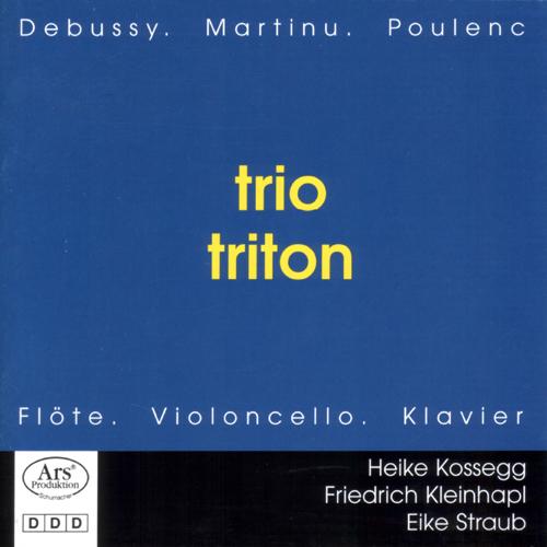 Trio Triton - Flöte, Violoncello, Klavier - CD Cover