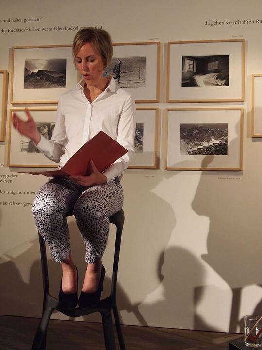 Excited audience and a big success for Heidrun Maya Hag...